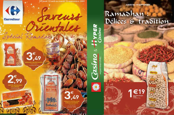 grande distribution Ramadan