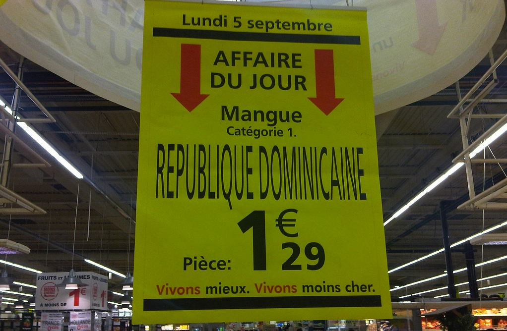 g ographie chez auchan les mangues dominicaines poussent dans le golan. Black Bedroom Furniture Sets. Home Design Ideas